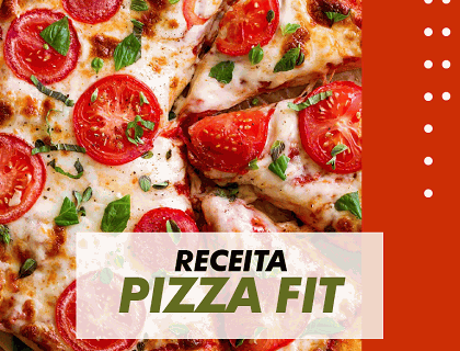 Receita de Pizza Fit