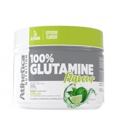 100% GLUTAMINE FLAVOUR  LIMÃO (300g)