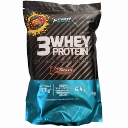 3 Whey Protein Refil (1kg) FitFast Nutrition