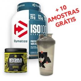 Combo Damatyze + Iridium Labs + Max Titanium + 10 amostras grátis